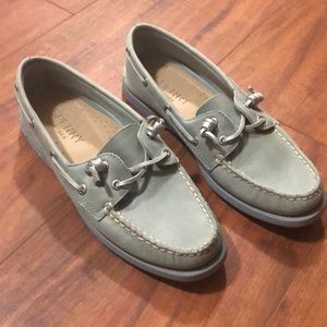 Women 6 Sperry Top Sider loafer boat shoes